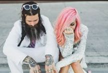 Bad girls weddings / Alternative, tattoed and rock and roll brides