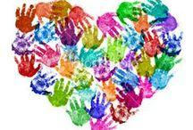Valentine's Day Art for Kids / Faber-Castell LOVES Valentine's Day art and craft projects for kids.