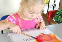 Children's Art crafts