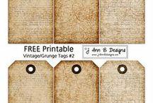 Free Stuff / Free printables, fonts etc
