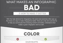 Infographics / Raccolta di infografiche interessanti dal punto di vista grafico e di comuicazione. Alcune di queste... le ho disegnate io! :D