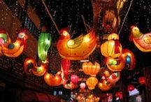 #Chinese Festivals / Festivals celebrated by Chinese all around the World from Chinese New Year, Dragon Boat to Mid- Autumn Festival etc.