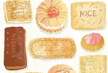 Ohn Mar Win Art & Illustrations / What I've created for my portfolio website www.ohnmarwin.com Mainly based around food illustrations but also maps and hand lettering