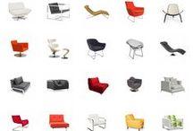 chairs | sedie / Le #sedie sono uno degli elementi più disegnati e caratterizzanti di un progetto di interni...ed io le adoro