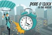 #POREoclock / #POREoclock is 4 o'clock.