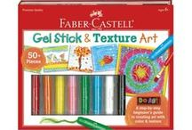 Art Products for Kids / An amazing collection of premium quality art products for kids from Faber-Castell. Products include Outdoor Chalk Art Set, Paint by Number, Tempera Paints and more! Children will have hours of art-filled, creative time using these products.