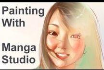 Manga Studio - Clip Studio Paint / Tutorials, reviews and brush sets Manga Studio aka Clip Studio Paint