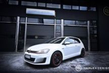 VW GOLF 7 GTI Carlex AKE Robotics / VW Golf 7 GTI Carlex AKE Robotics Wrap Style