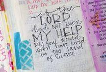 Journaling Ideas / Bible Journaling, Personal Journaling