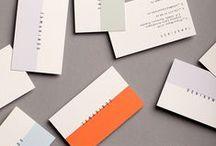 Business Card / Raccolta di immagini e ispirazioni di biglietti da visita e immagini coordinate interessanti.