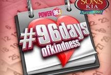 #96DaysOfKindness / For 96 days this summer the Power morning show is doing random acts of kindness around the city!