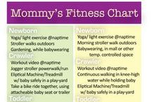 Fitness and Exercise / Getting into shape, feeling great and being healthy, with kids