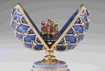 Faberge Eggs with Surprise Inside