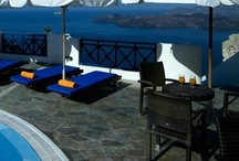 Harbor Watch Pool bar / The Harbor Watch Pool bar is located by the second pool, on the lowest level, overlooking Athinios Port.