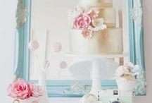 Wedding | Vignettes / Wedding pretty focal points