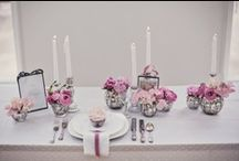 Wedding | Table Decorations / Wedding table tops to inspire your wedding design