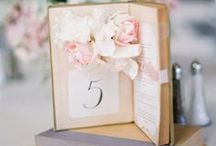 Wedding | Table Number / Loads of insipration for how to number your tables