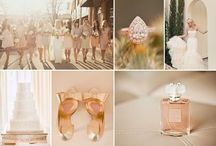 Rose Gold / Rose Gold colour inspiration board