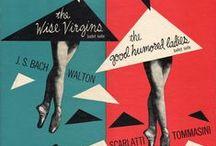 Vintage Classical Album covers / LP covers 1945-1960
