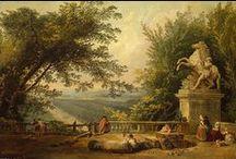 Hubert Robert / French Painter, 18th Century