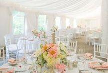 Weddings | Marquee Weddings / Marquee wedding style ideas.
