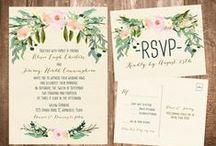 Invitaciones de boda / Ideas originales para convocar a tus seres queridos.  / by Revista Nupcias