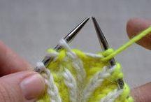 De fils en aiguilles / Tricot et crochet