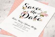 Wedding | Stationery / Wedding Stationery Ideas for a modern elegant quirky wedding