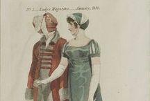 Fashion 1790-1830 / Regency, Empire, Biedermeier Clothing
