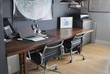 Cheri's home office