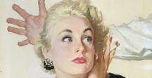 retro illustation: Al Parker