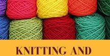 Knitting and Crochet / To be a contributor, follow the board then email samoshvejka@rambler.ru. Only knitting and crochet related pins. Please re-pin at least 2 or 3 that you find here for every pin that you pin.