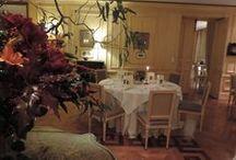 Restaurant @ Chateau la Cheneviere / Gastronomic Restaurant @ chateau la Cheneviere, Port en Bessin, France