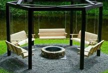 Fire Pit Ideas / From the simple to the wow, a mix of fire pit designs to inspire your outdoor living space.