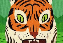 Tigers / by Tuff Kookooshka