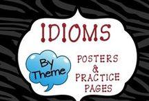 English idioms, phrasal verbs