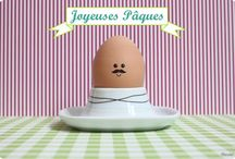 La fête des cloches, des lapins, des œufs et Cie / by Lau Gourgues