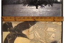 collage, sketchbook