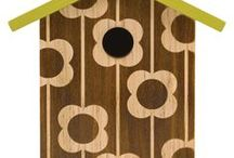Wildlife Garden / Modern Bird Feeders & Houses plus Insect Habitats to encourage wildlife into your garden.