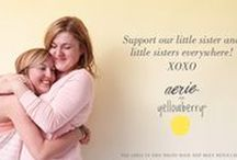 Aerie for Yellowberry / Our very first collaboration with one of favorite brands and big sister, Aerie!