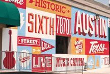 Street Typography / Ghost signs, signatures and type in exteriors