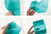 creative life * let's fold it! / origami, napkin folding...