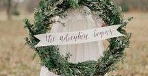 Hochzeitsdeko - Greenery / Endlich habe ich einen Stil für unsere Hochzeit im August gefunden...