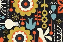Scandinavian Illustrations and Design / Scandinavian style of illustrations is still very popular - from Ikea textile design to illustrated postcards. Simple bold shapes, folk patterns, and serene colors.  Follow this board if you want to be inspired by the Scandinavian graphic design and illustrations