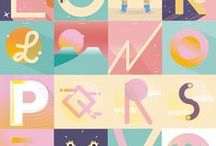 36 Days of Type | Illustrated Alphabet / 36 days of type | The Creative Approach to Typography | This board collects illustrated alphabet and letters. Follow if you want to stay inspired by 36 days of type Chalange