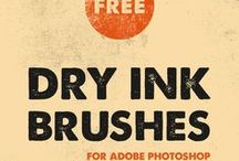 Adobe Photoshop Brushes / The Collection of Free and Premium Brushes for Adobe Photoshop. Choose your Adobe Photoshop brush set for drawing or texturing.