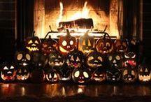 Hallowe'en Ceramics and Art / My handmade, ceramic Halloween decorations and serveware! Plates, cake plates, jack-o'-lanterns, masks, skulls, mugs etc.