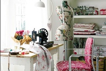 Fabrics, Sewing room & More
