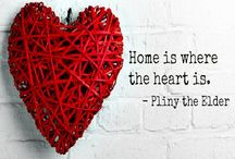 "Home SWEET Home /  ""HoMe WhErE My HeArT is"" / by Anupama Shah"