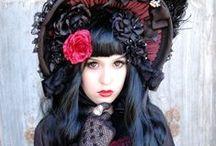 Inspiration: Lolita (Gothic, Classic, Hime) + Aristocrat/Dandy/Kodona